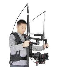 3-axis suporte do estabilizador eletrônico colete 2-6 kg Câmera DJI EASYRIG Ronin Apoio estabilizador