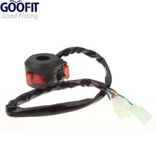GOOFIT Left Switch Assembly for 50cc 70 Cc 90cc 110 125cc 150 ATVs Quad 4 Wheelers Taotao SunL Coolster I060-011