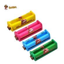 HONEYPUFF пластиковые сигареты прокатки машина подходит 78 мм обычная бумага Ручной Табак Кнопка регулировки курительная роликовая бумага Размер