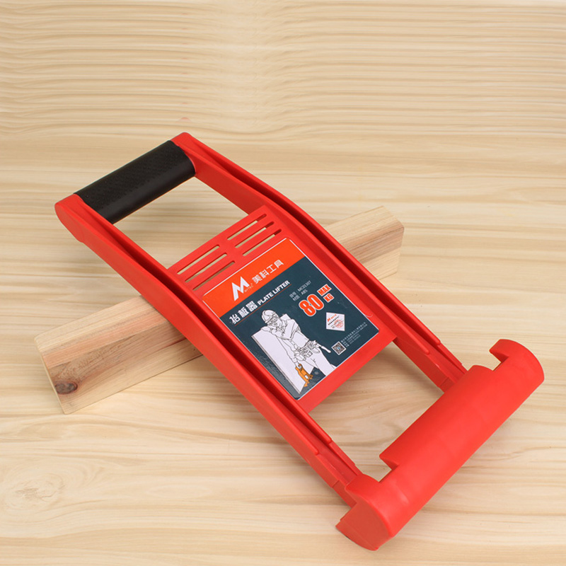 Hand Plate Lifter for Plate Glass Wood 80kg Capacity ABS Plastic Easy-to-Carry Board Carrier for free shipping 323 sea fuxing 2 glass doors lifter qianmen elevator machine