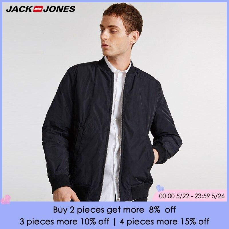 JackJones printemps été nouvelle veste de col de Baseball pour hommes | 218309513