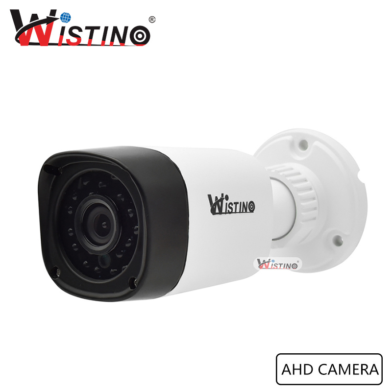 Wistino Analog Camera Surverillance Bullet  AHD Camera CCTV HD 720P 1080P Outdoor With IR Cut Filter Waterproof ONVIF cctv camera housing metal cover case new ip66 outdoor use casing waterproof bullet for ip camera hot sale white color wistino