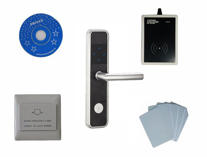Access Control Hiread Brand Insert Hotel Room Card Key Energy Saving Round Sliver Switch With 125khz T57 T5567 Em4305 Rfid Card Security & Protection