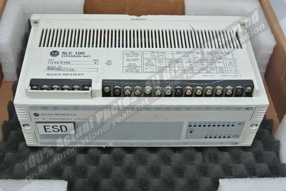 1745-E104 Ser:A Used 100% Tested With Free DHL / EMS evf8217 e lenze inverter evf8217 e almost new used 100% tested