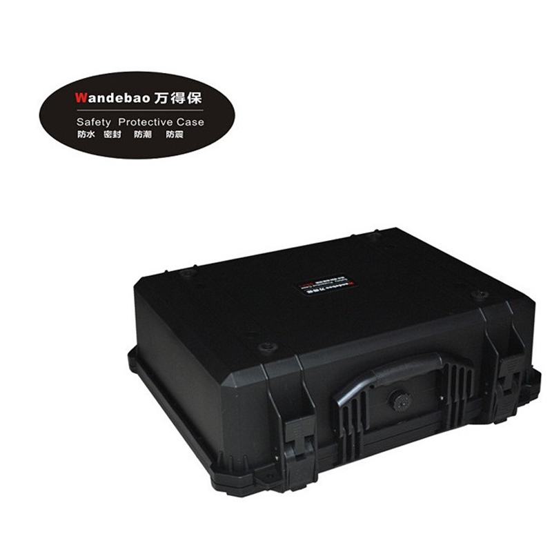 Tool case toolbox suitcase Impact resistant sealed waterproof safety ABS case480-365-195MM Spare parts kit camera case with foam