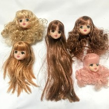 цены Special Offer New Brand Original heads for Licca doll  toys doll accessories Hazy beauty DOLL head