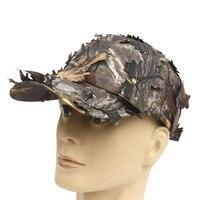 מכירה חמה חיצוני טקטי צבאי cap ביונית הסוואה צלף עלה צבא camo ציד כובע כובע ג 'ונגל חבויה