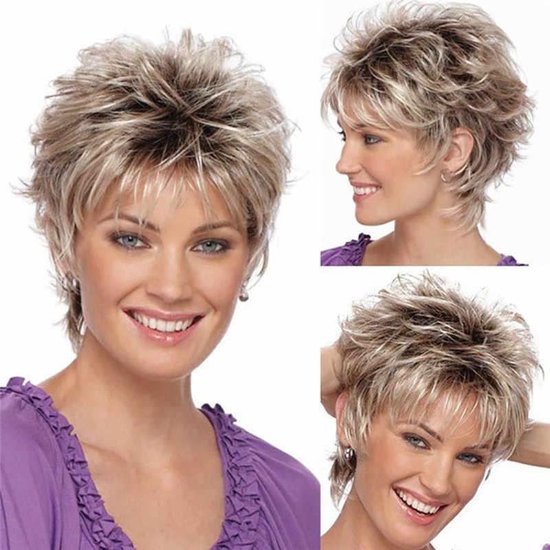 Degradado cabello corto mujer