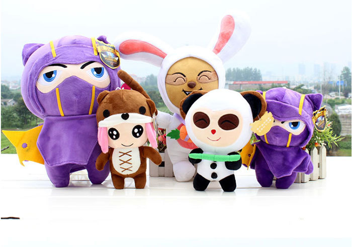 Hot sale LoL plush toy 20 25cm baby toy Anne timo lee new