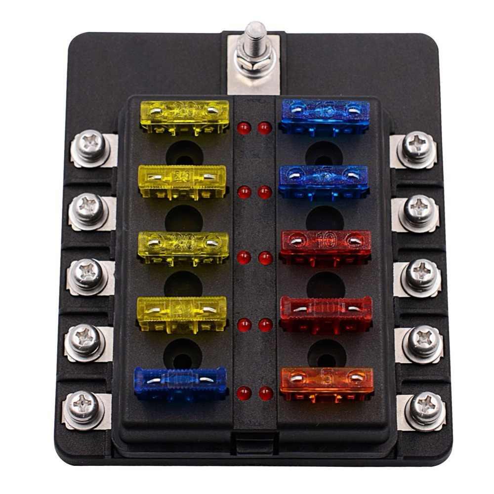 blade fuse box with trike warning light emitting diode kit for ...  aliexpress