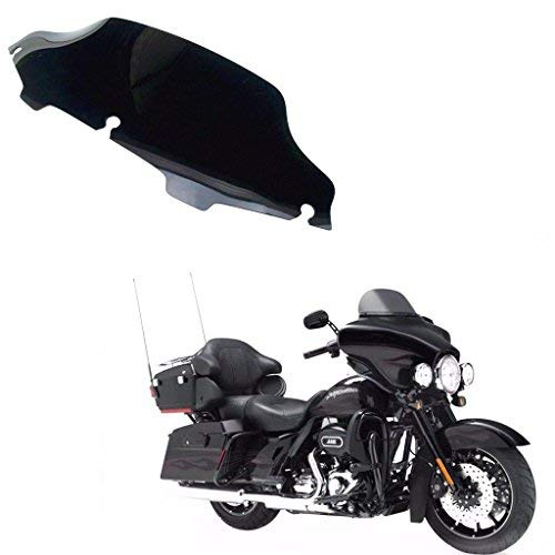 6 quot Motor Wave Windshield Windscreen For Harley Touring FLHX FLHT FLHTC Models FL in Windscreens amp Wind Deflectors from Automobiles amp Motorcycles