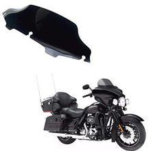 6 Motor Wave Windshield Windscreen For Harley Touring FLHX FLHT FLHTC Models FL
