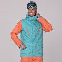 Ski Jacket Men Snowboard Jacket Windproof Waterproof Snow Wear Warm Outdoor Sport Coat Men Gsou Snow Large Size Down Jacket