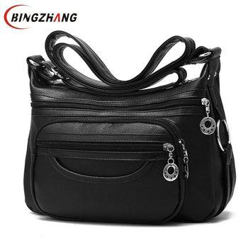 Crossbody Soft Leather Shoulder Bag