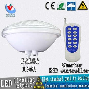 Par56 piscina luce ip68 24 w 36 w DC12v luci subacquee fontana AC12V lampadina impermeabile esterno freddo/caldo bianco ah condominio