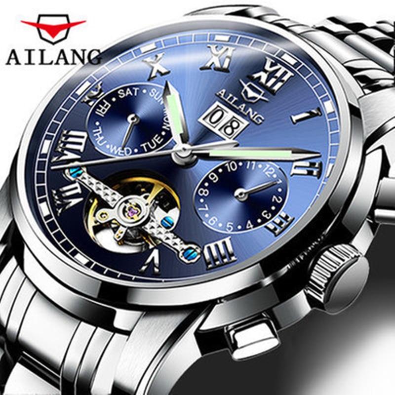 Mens watches top brand luxury Casual Business Waterproof Stainless steel Wrist watch Men Calendar Automatic Mechanical Watch внешняя студийная звуковая карта presonus audiobox 1818vsl