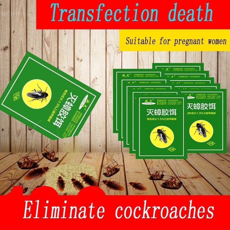 Image 5 - 100Pcs Pest Control Very Powerful Killing Cockroach Bait Powder Cockroach Repeller Insect Roach Killer Anti Pest Reject Trap-in Baits & Lures from Home & Garden