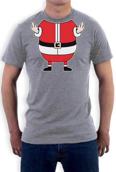 15ad18d3a Xmas Rude Fat Santa T shirt Men Cheeky Funny Elf for Christmas gift tee USA  Size S 3XL-in T-Shirts from Men's Clothing on Aliexpress.com | Alibaba Group