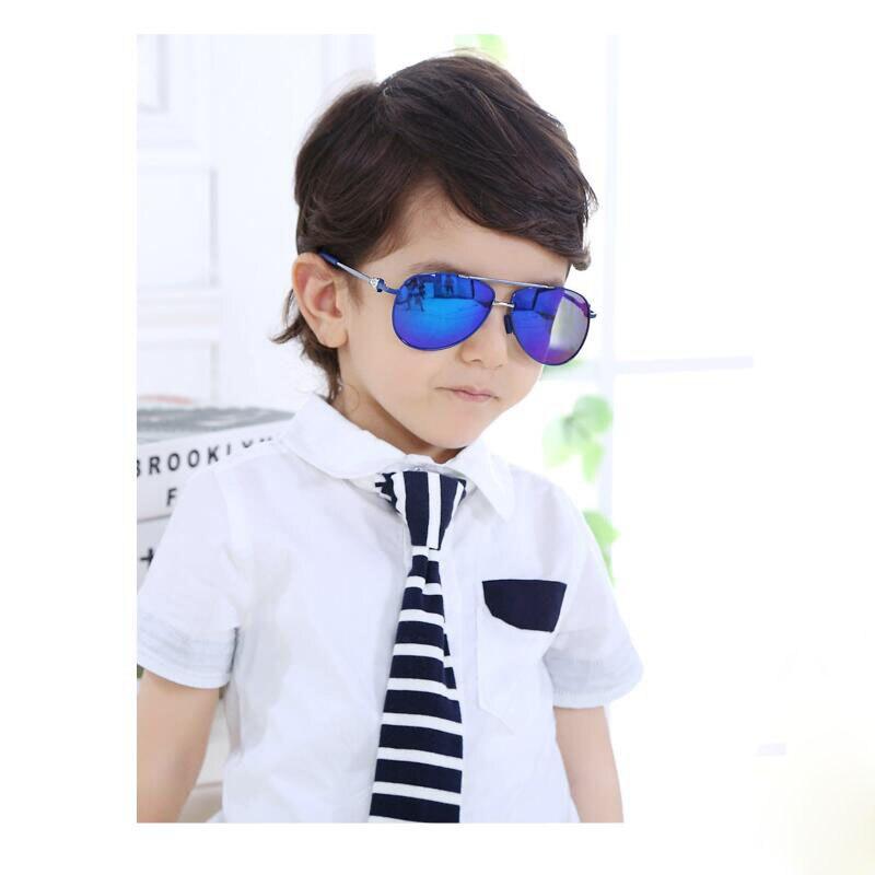 Aviación piloto polarizadas oculos infantil moda niños gafas de sol niños  gafas de sol 563 Gafas para Niños y Niñas Gafas de Sol en Disfraces de cine  de La ... 06a2bbca77