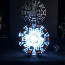 Avengers Iron Man 1 1 skala MK1 łuku reaktora Iron Man DIY Model montażu zabawki figurka części USB LED żelaza -Man reaktora zabawki tanie tanio Modelu Unisex Film i telewizja Montaż montażu Półprodukty produkt Zachodnia animiation Żołnierz zestaw Żołnierz gotowy produkt