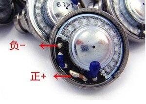 Image 2 - 15.4 مللي متر وحدة مكبر الصوت وحدة مزدوجة hifi تتحرك لفائف ثلاثية الفرقة المعادلة 2 قطعة حوالي 24 أوم