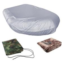 Durable Waterproof 420D Oxford Fabric UV Resistant Inflatable Boat/Dinghy/Tender Cover Storage Fits Length 2.3-4.7m/7.5-15.4ft