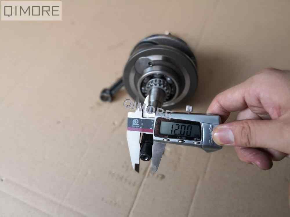 + 3mm stroker performance vilebrequin pour Scooter de refroidissement à air 4 temps cyclomoteur ATV 152QMI 157QMJ 1P52QMI 1P57QMJ GY6 125 GY6 150 cc