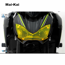 MAIKAI FOR KAWASAKI Z900 Z 900 2017 Motorcycle Headlight Protector Cover Shield Screen Lens
