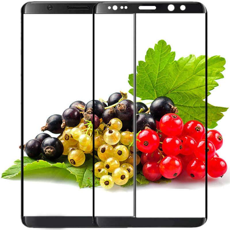 10D מלא כיסוי מזג זכוכית עבור Samsung Galaxy S8 זכוכית מגן עבור סמסונג הערה 8 S9 בתוספת זכוכית מסך מגן כיסוי סרט
