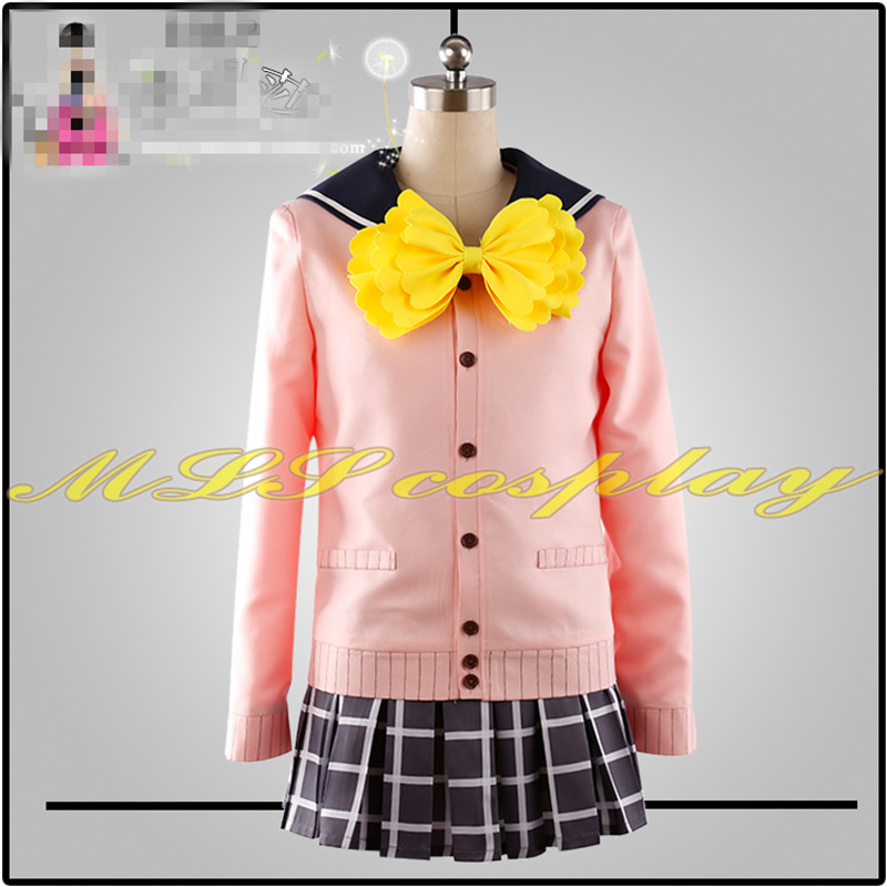 Japanese Anime THE IDOLM@STER Cinderella Girls Sidem Cosplay Costume School Uniforms Custom Made Girl Dress Hot Sale Woman Cloth