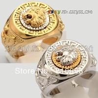 Бесплатная доставка 1 шт. Мода GP Прохладный Лев Eagle Star кольцо