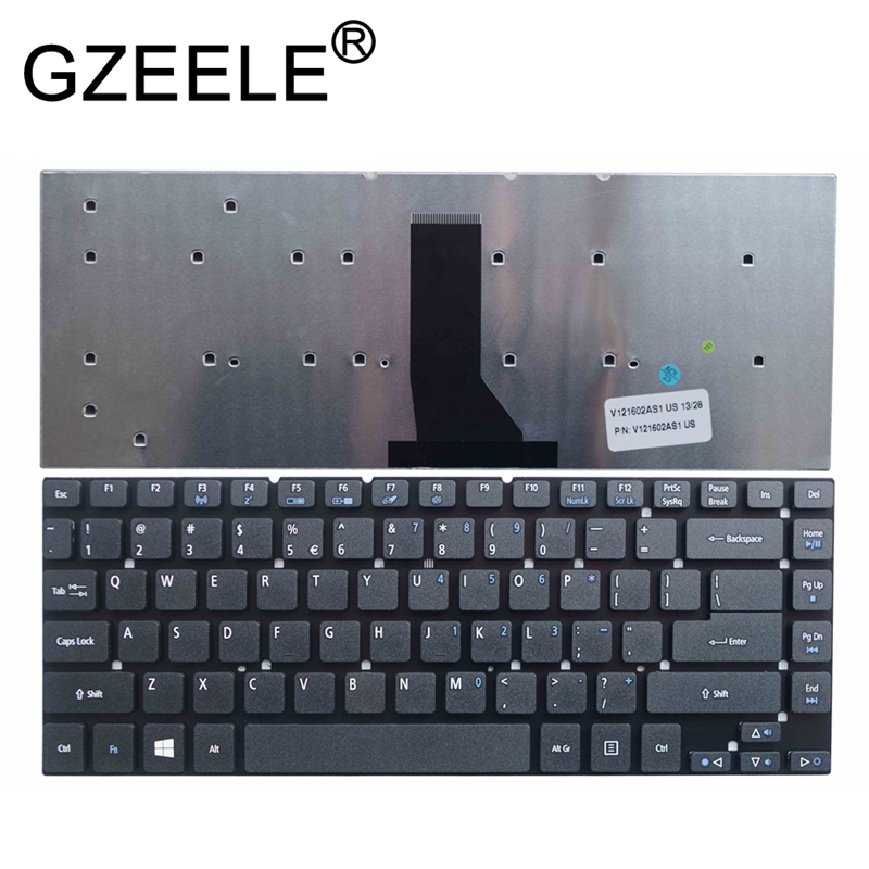 GZEELE New US Black Keyboard For Acer Aspire ES1-411 ES1-431 ES1-511 ES1-520 ES1-521 V3-431