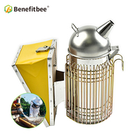 Benefitbee Beekeeping Tools Bee Beekeeping Smoker For Beekeeper Intensive Stainless Steel Beehive Smoker Beekeeping Equipment