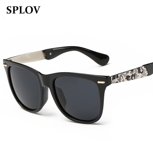 Homens Óculos Polarizados Óculos de Sol Dos Homens Clássicos Retro Escovado Tons Grife óculos de Sol Oculos de sol Ao Ar Livre