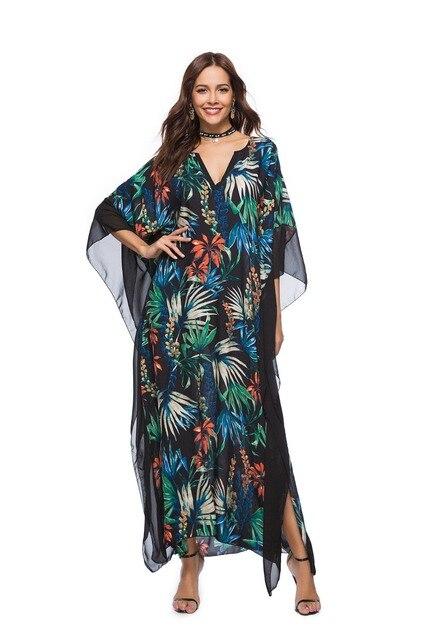 10701621cd4 Женские платья Бисер сетки красивые дешевые платья с цветочным принтом  платье в стиле Boho-Chic