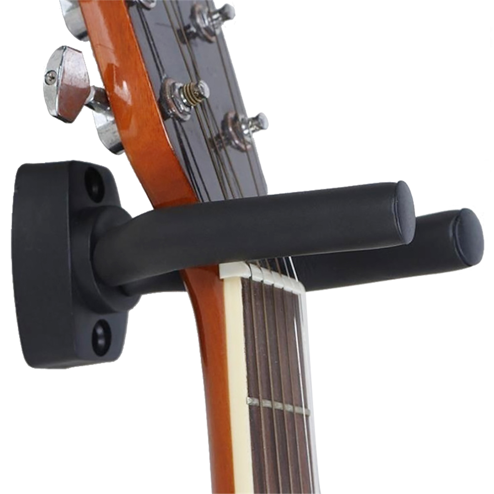 Guitar Hanger Hook Holder Wall Mount Stand Hook Holder Suitable For Guitar Bass Mandolin Banjo Ukulele with Screws Accessories(China)