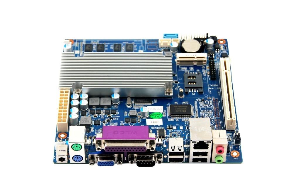 Fanless N2800  Mini Itx Motherboard,Fanless Motherboard DC12V,Fanless Motherboard m945m2 945gm 479 motherboard 4com serial board cm1 2 g mini itx industrial motherboard 100