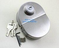 Stainless Steel Glass Door Lock 130mm x 96mm