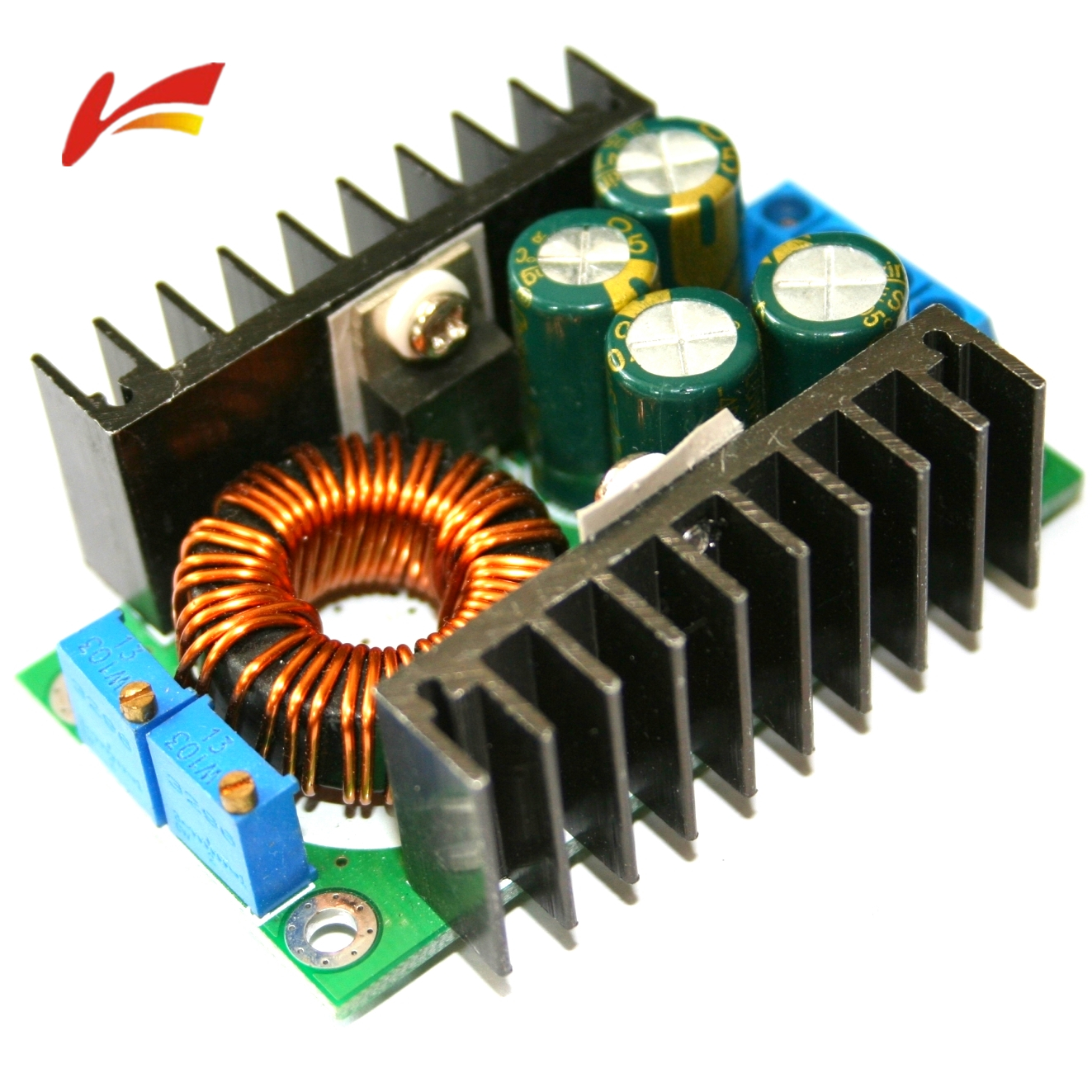300W XL4016 DC-DC MAX 9A STEP DOWN 5-40V TO 1.2-35V ADJUSTABLE POWER SUPPLY PCE