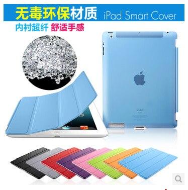 Uyandırma fonksiyonu yeni deri manyetik İnce akıllı kılıf apple - Tablet Aksesuarları - Fotoğraf 5