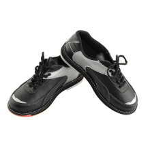 Кожаная обувь для боулинга для мужчин, профессиональная спортивная обувь для фитнеса, принадлежности для боулинга, нескользящая тренировочная обувь, кроссовки D0581