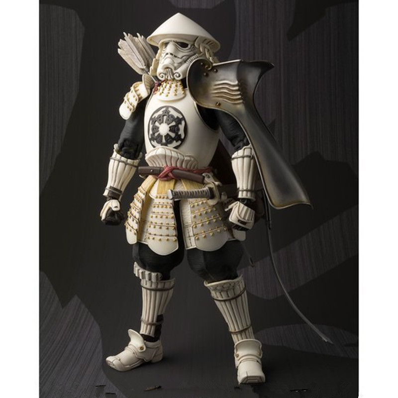 New Star Wars Takayuki Takeya Famous General The Arrow BANDAI PVC Action Figure Model Army Fans Stormtrooper Imperial Toys L1589 new smith minecraft arrow action figure toy pixel mosaic bow and arrow assembled set of juguetes anti stress toys for kids