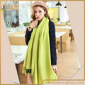 green scarf long Shape pashmina acrlic Scarves & Wraps Shawl For Women Free Shipping