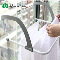 Outdoor Folding Rack For Clothes Towel Dryer Rack Hanger Shelf Drying Storage Radiator 2016 Metal Hook