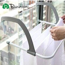 Outdoor Folding Rack For Clothes Towel Dryer Rack Hanger Shelf Drying Storage Radiator 2016 Metal Hook Large Clip Hot ButiHome
