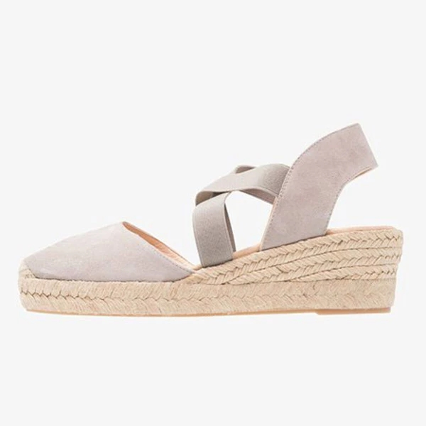 Women Wedges Sandals shoes woman Casual Summer Gladiator Retro Female Sandals Flock Ladies Party Office women Shoes dropshipping