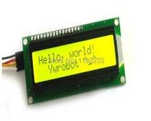 5 шт./лот IIC/I2C 1602 ЖК-Модуль Экран Оливин Желтый Зеленый Blacklight Для Arduino