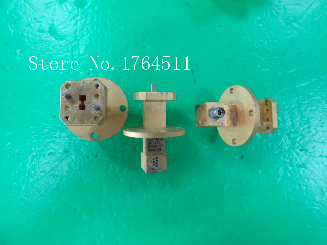 [BELLA] WILTRON SC3564 26.5-40GHZ Ka 3.5mm Band Waveguide Connector Rotary Joint