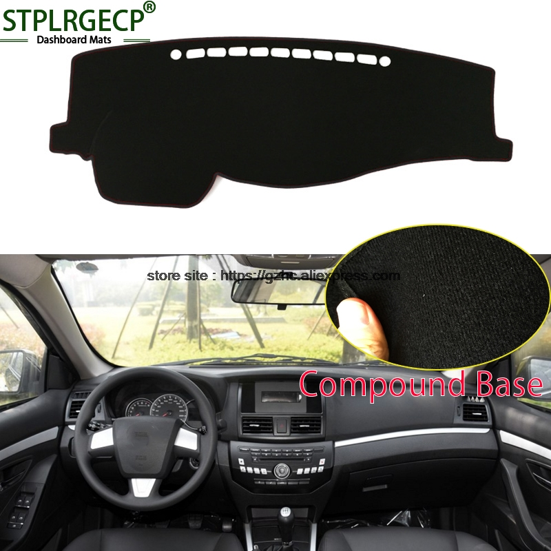StplrgeCP For lifan 720 doulbe layer Car Dashboard Cover Avoid Light Pad Instrument Platform Dash Board Cover Sticker датчик lifan auto lifan 2