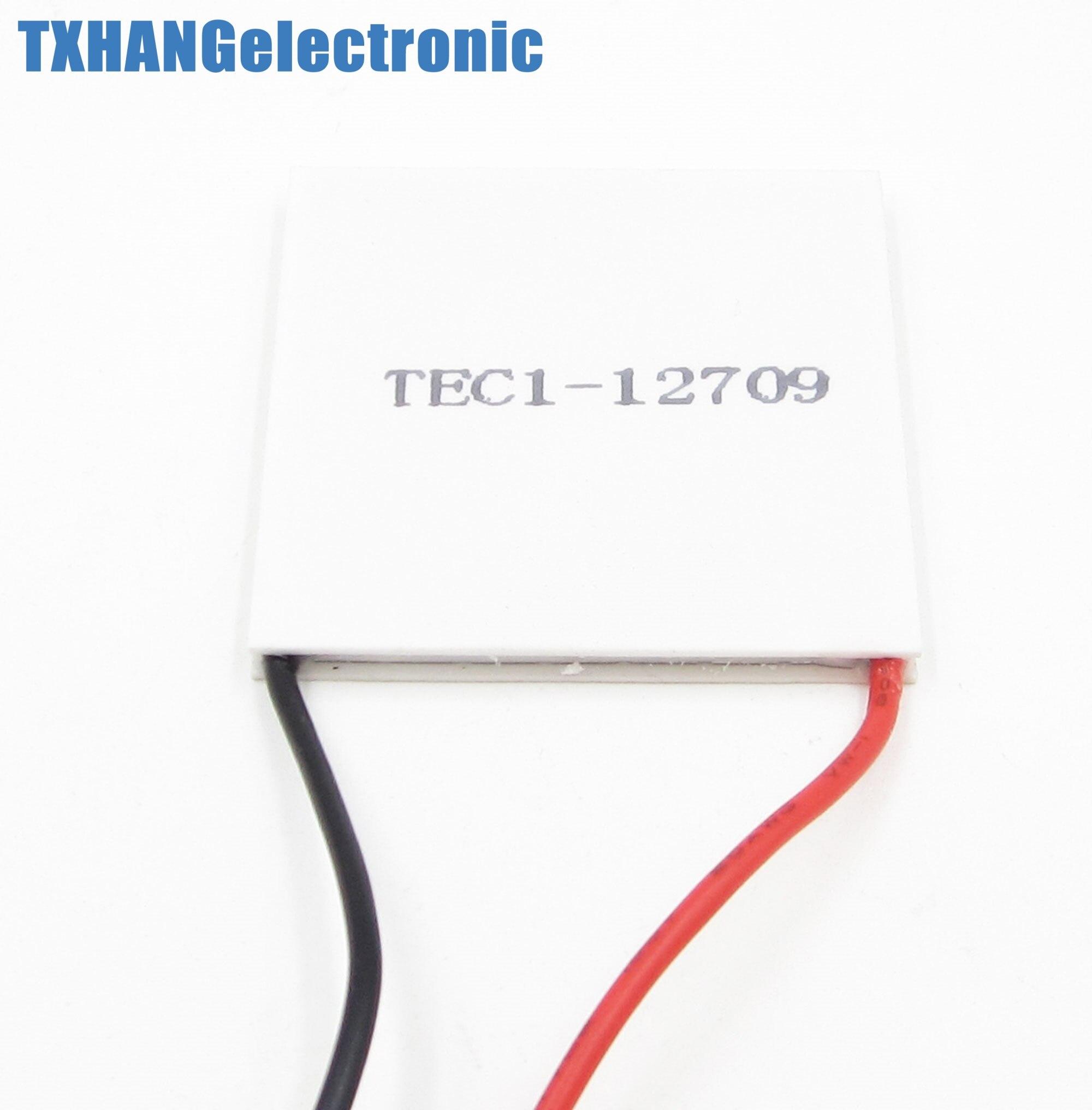 10PCS TEC1-12709 Heatsink Thermoelectric Cooler Cooling Peltier Plate Module10PCS TEC1-12709 Heatsink Thermoelectric Cooler Cooling Peltier Plate Module
